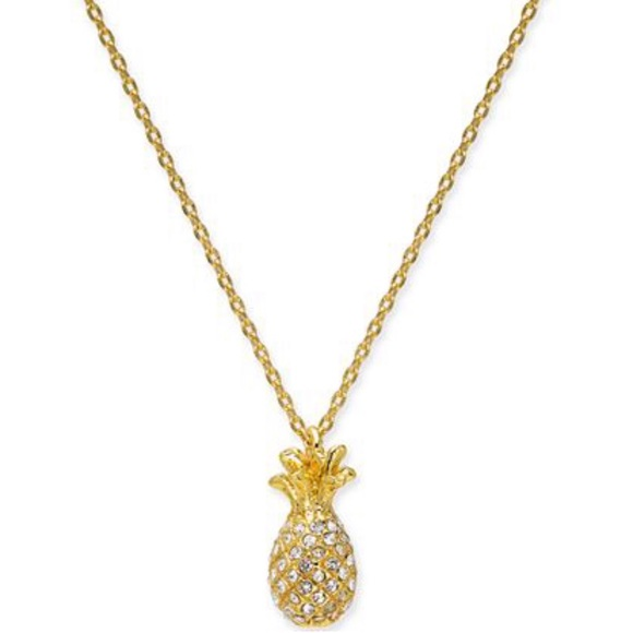 kate spade Jewelry - Kate Spade - NWT By The Pool Pineapple 🍍Necklace